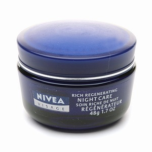 Nivea Visage Rich Regenerating Night Care for Dry to Sensitive Skin, $5.99