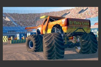 Monster Jam Path of Destruction screenshot El Toro Loco