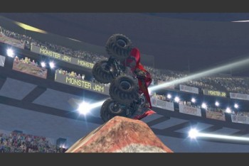 Monster Jam Path of Destruction screenshot stunts