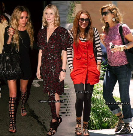 Celebrity fashion trends
