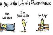 A Day in the Life of a Procrastinator