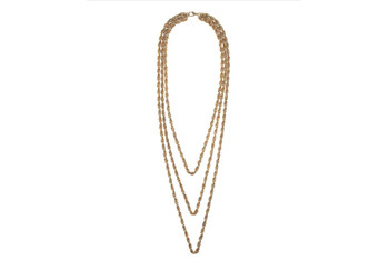 Chunky chain multirow necklace, $30, at Topshop.com