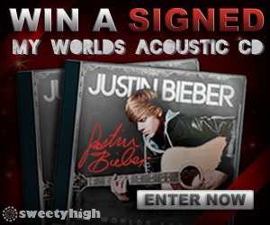 Justin Bieber: Signed Acoustic Contest