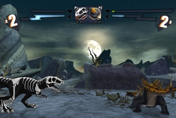 Battle of Giants: Dinosaur strike fighting game screenshot customization