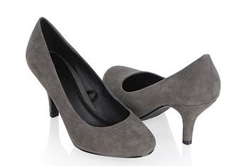 Classy suedette heels, $18.80