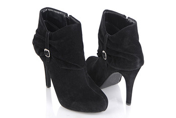 Chic suedette boots, $27.80, at Forever21.com