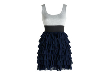 Elisha ruffle dress, $54.60, at Delias.com