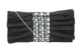 Gemstone cracker clutch, $18, at NewLook.com