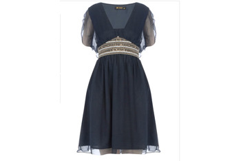 Rise navy embellished dress, $65, at DorothyPerkins.com