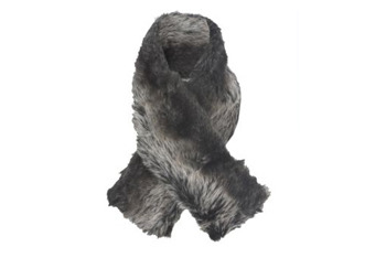 Faux Fur scarf, $12, at NewLook.com