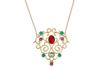 Gemstone treasure necklace, $15.99, at ModCloth.com