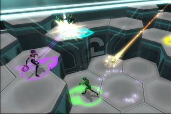 Tron Evolution Battle Grid screenshot arena battle