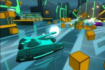 Tron Evolution Battle Grid screenshot tanks
