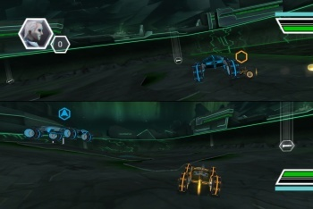Tron Evolution Battle Grid screenshot light four wheelers multi player