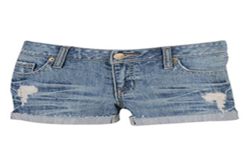 Forever 21 Trista Frayed Denim Short $22.80