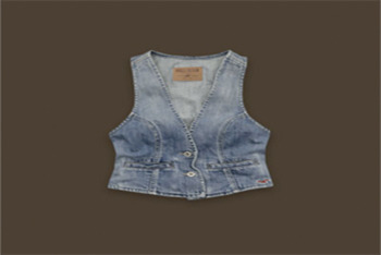 Hollister Dixon Lake denim vest $49.50