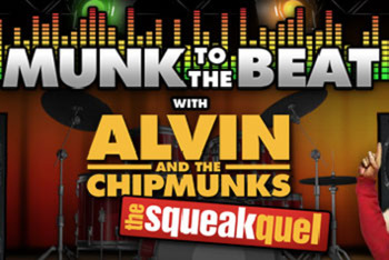 Munk to the Beat with Alvin and the Chipmunks: The Squeakquel