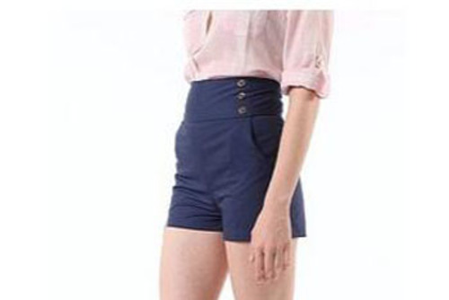 navy blue sailor shorts