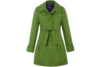 Fred Flare canvas Mademoiselle trench coat $84