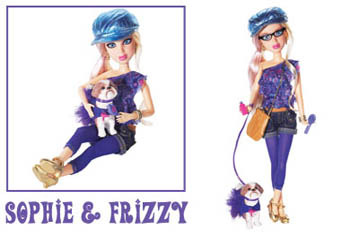 Sophie and Frizzy
