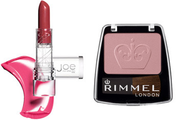 Joe Fresh lipstick and Rimmel Blus