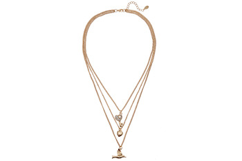 Aldo Three strand necklace $12