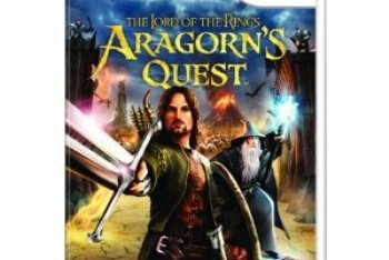 Lord of the Rings: Aragorn's Quest Wii box art cover