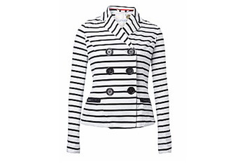 New Look striped blazer $32