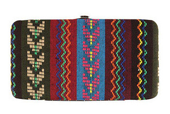 Forever 21 Tribal Weave Wallet $7.50