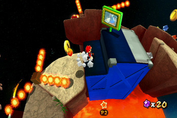 Super Mario Galaxy 2 Screen