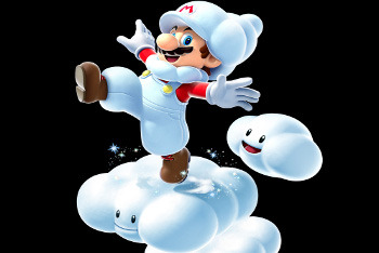 Super Mario Galaxy 2 - Snow Mario