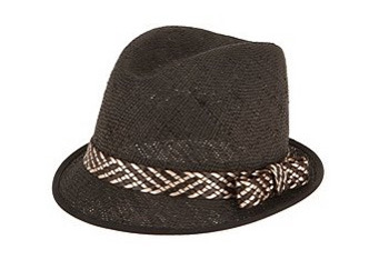 Belted Straw Fedora, Urban Outfitters, $34
