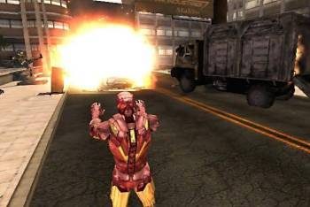 Iron Man 2 gameplay screenshot