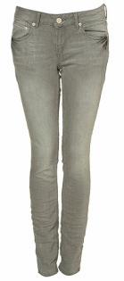 Topshop grey skinny jeans, $60