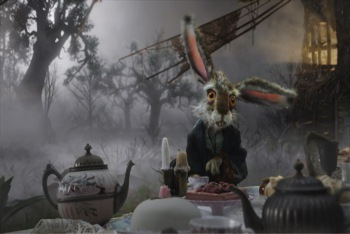 March Hare at Tea