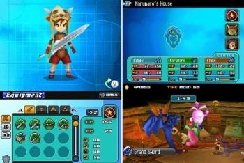 Blue Dragon Custom Character Screenshot