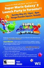 Toronto Launch Party :: Super Mario Galaxy 2