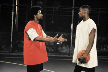 Ray with Denzel Washington