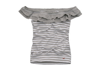 Abalone Cover off shoulder top from Hollister, $29