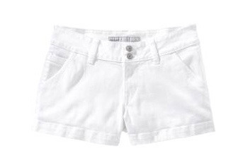White denim shorts from Old Navy, $15