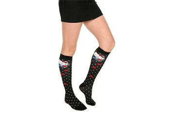 Hello Kitty socks from Hot Topic, $8