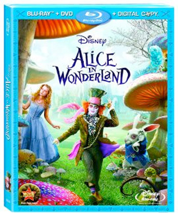 Alice in Wonderland Blu-Ray/DVD/Digital Combo