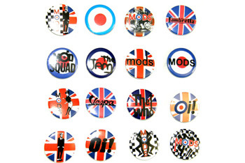 Mods badges from Sohos.co.uk, $2
