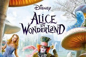 Alice in Wonderland DVD Boxart