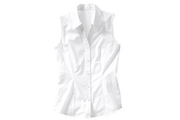 Sleeveless button front shirt from Old Navy, $15