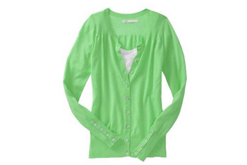 Pointelle-trim cardigan from Old Navy, $26.50