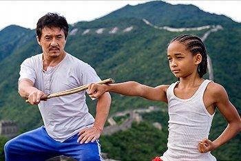 Jaden Smith in The Karate Kid