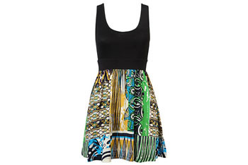 Ethnic woven dress from Forever21.com, $12.50