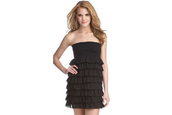 Babydoll ruffle dress from Dillards.com, $49