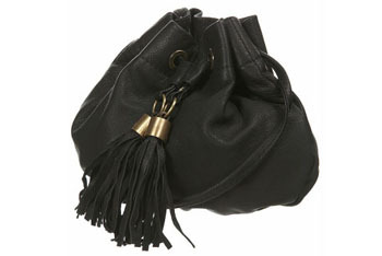 Leather tassel pouch from Topshop, $39